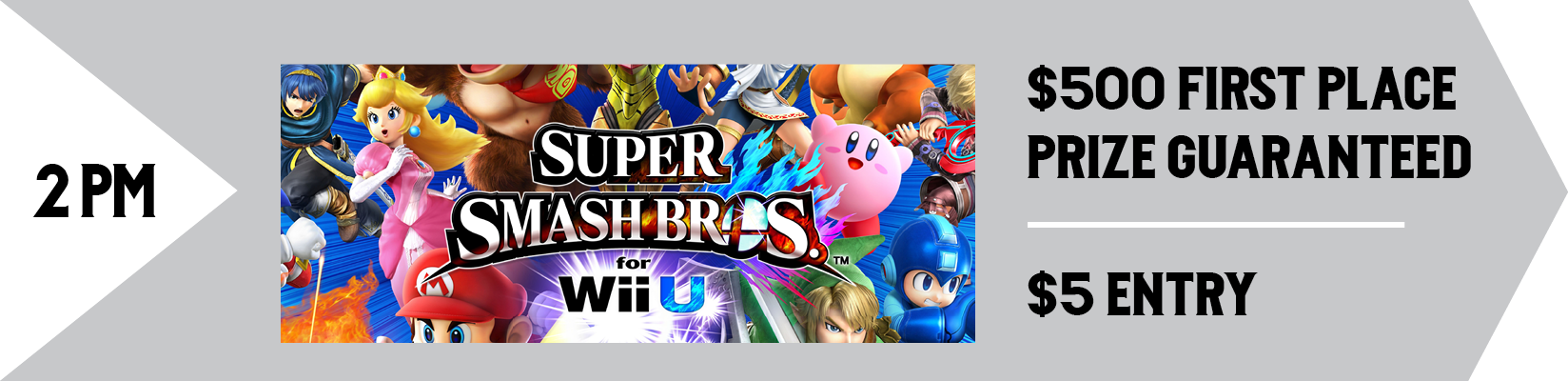 Super Smash Bros for Wii U Tournament