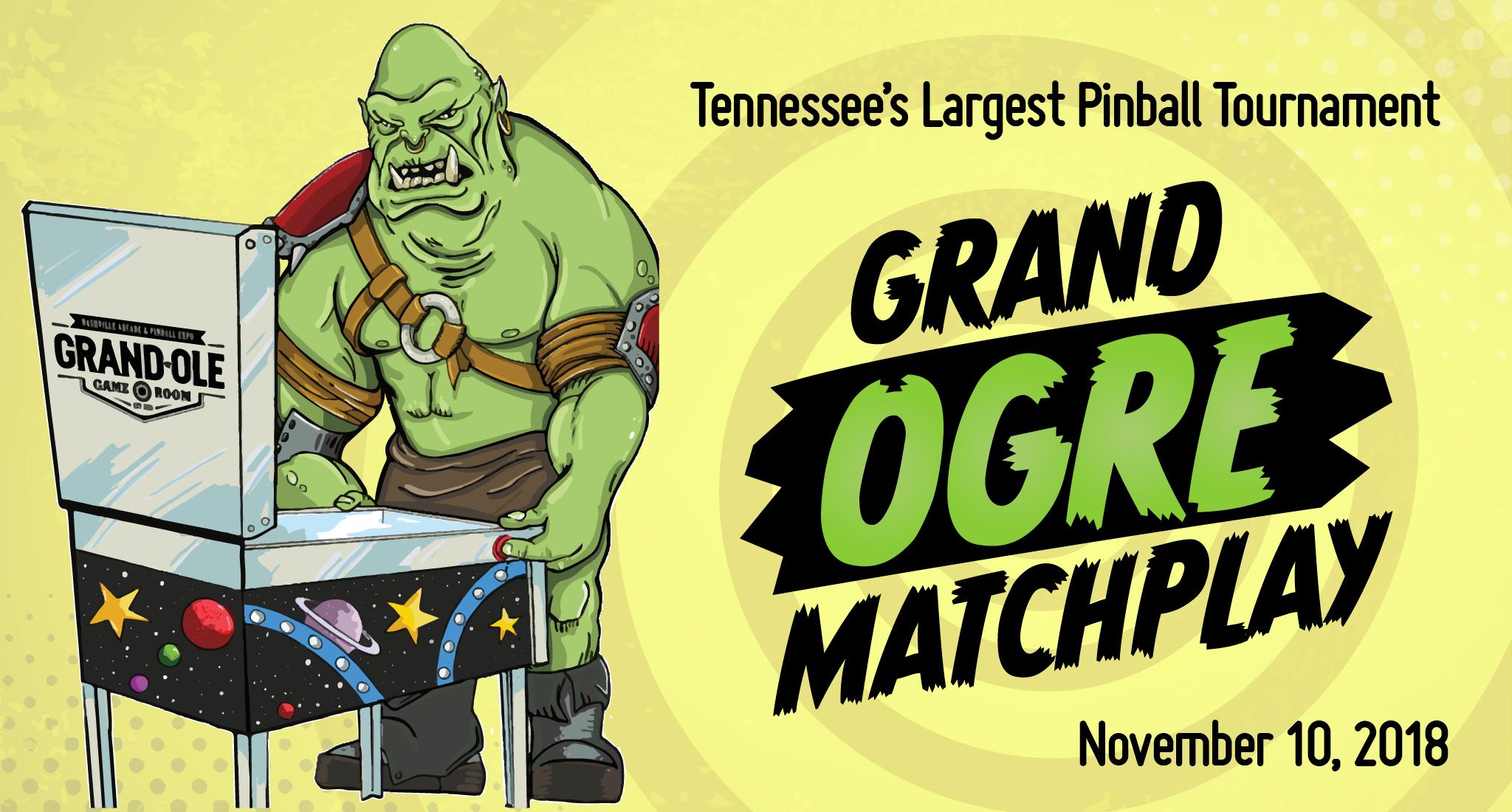Grand Ogre Matchplay Pinball Tournament